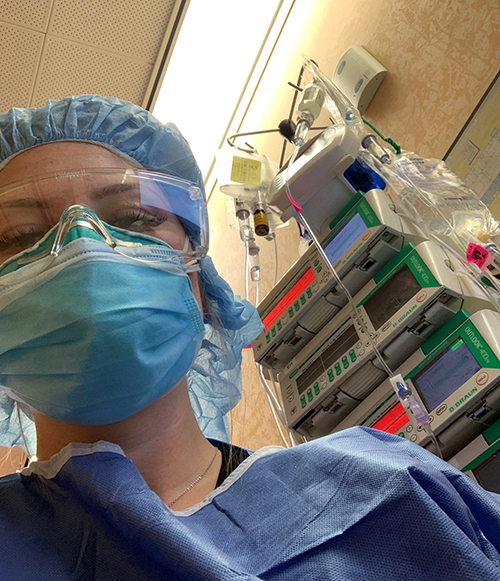 Being in Her Second Trimester Doesn't Stop this Texas-Based Nurse from Giving Back in New York