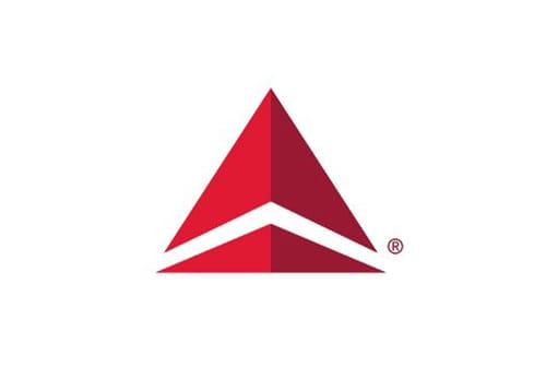 Delta Airlines Triangle Logo