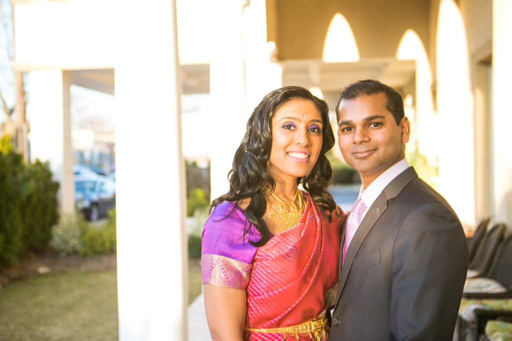 Maneesha Ahluwalia and her husband