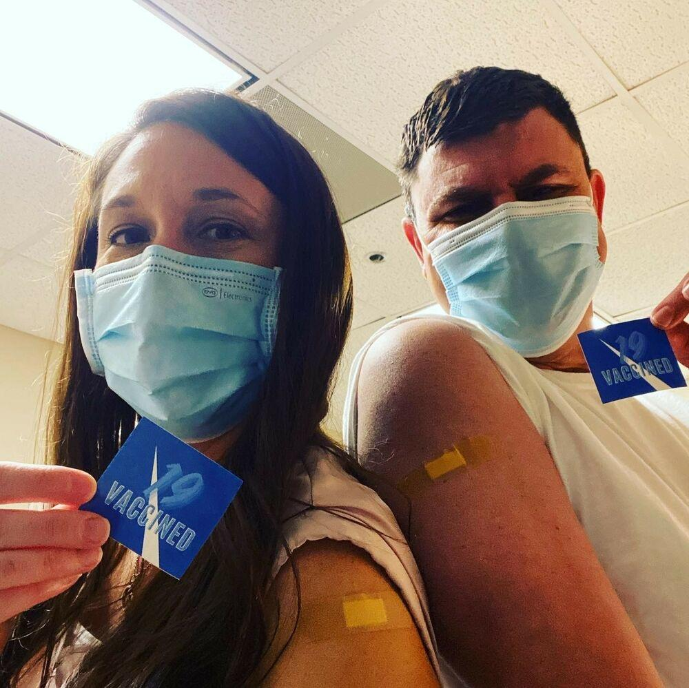 Chamberlain Grad Shares her Experience Receiving COVID-19 Vaccination