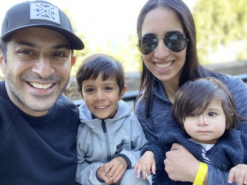 Robbie Bahl and family