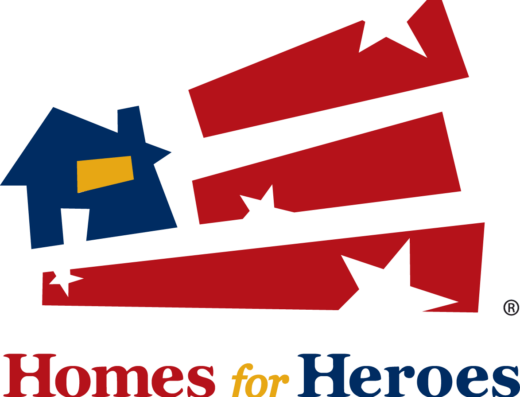 homes for heroes logo